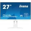 Iiyama XUB2792QSU-W1 (белый) - МониторМониторы<br>Монитор LCD 27, 16:9, 2560x1440, IPS, 350cd/m2, 178°/178°, 1000:1, 5М:1, 1.07 биллион, 5мс, DVI, DisplayPort, HDMI, USB хаб, колонки 2х2Вт.<br>