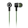 SVEN E-107 (черный, зеленый) - НаушникиНаушники<br>Стереонаушники канального типа, разъем &amp;amp;#216; 3.5 мм (3 pin) для подключения, кабель с тканевой оплеткой, предотвращающей его запутывание.<br>