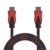Кабель HDMI 19 pin M-HDMI 19 pin M 1.5м (Jet.A JA-HD9) (черно-красный) - HDMI кабель, переходникHDMI кабели и переходники<br>Кабель HDMI 19 pin M-HDMI 19 pin M, версия 2.0, поддержка 3D: Full HD 3D, поддержка Full HD, поддержка Ethernet, поддержка Ultra HD 4K, позолоченные контакты, нейлоновая оплетка, длина 1.5м.<br>