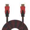 Кабель HDMI 19 pin M-HDMI 19 pin M 10м (Jet.A JA-HD9) (черно-красный) - HDMI кабель, переходникHDMI кабели и переходники<br>Кабель HDMI 19 pin M-HDMI 19 pin M, версия 2.0, поддержка 3D: Full HD 3D, поддержка Full HD, поддержка Ethernet, поддержка Ultra HD 4K, позолоченные контакты, нейлоновая оплетка, длина 10м.<br>