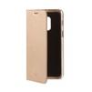Чехол-книжка для Samsung Galaxy A8 Plus (Celly Air Case AIR707GDCP) (золотистый) - Чехол для телефонаЧехлы для мобильных телефонов<br>Чехол плотно облегает корпус и гарантирует надежную защиту от царапин и потертостей.<br>