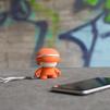 Xoopar mini Xboy (XBOY81001.20A) (оранжевый) - Колонка для телефона и планшетаПортативная акустика<br>Источник звука, будь то плеер, смартфон или планшетный компьютер, может быть подключен к Xoopar Mini Xboy посредством беспроводной технологии Bluetooth.<br>