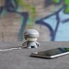 Xoopar mini Xboy (XBOY81001.22A) (серый) - Колонка для телефона и планшетаПортативная акустика<br>Источник звука, будь то плеер, смартфон или планшетный компьютер, может быть подключен к Xoopar Mini Xboy посредством беспроводной технологии Bluetooth.<br>
