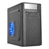 3Cott M1511 400W Black - КорпусКорпуса<br>Корпус Mini-Tower, блок питания 400Вт, 2хUSB 2.0, выход на микрофон/наушники.<br>