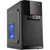 3Cott M1508 400W Black - КорпусКорпуса<br>Корпус Midi-Tower, блок питания 400Вт, 2хUSB 2.0, выход на микрофон/наушники.<br>
