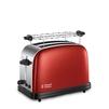 Russell Hobbs 23330-56 (красный) - ТостерТостеры<br>Тостер, на 2 тоста, мощность 1100 Вт, механическое управление, функция размораживания.<br>