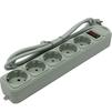 Exegate SP-5-1.5G (EX266862RUS) (серый) - Сетевой фильтрСетевые фильтры<br>Сетевой фильтр, 5 розеток, 1.5 м. Сетевые фильтры предназначены для защиты электронной техники от сетевых, импульсных помех, перегрузок по току, а так же от короткого замыкания.<br>