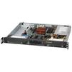 Серверный корпус SuperMicro CSE-512F-350B - КорпусКорпуса<br>Корпус серверный, 1U, ATX, 350 Вт, slim DVD, 2x 3.5 SAS/SATA HDD Bays, 43x437x369 мм, черный.<br>