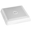 Светильник светодиодный ЭРА SPB-4-10-4K-MWS (белый) - Настольная лампа, ночник, светильник, люстраНастольные лампы, светильники, ночники, люстры<br>Светодиодный светильник, потребляемая мощность: 10 Вт, тип светодиодов: SMD2835 64 шт, световой поток: 800 лм, цветовая температура 4000 К, степень защиты от воздействия окружающей среды: IP20, частота сети: ~50/60 Гц, материал: АБС+поликарбонат, напряжение: 75-260 В, срок службы 50000 часов, размеры: 190x190x38 мм.<br>