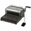 ProfiOffice Bindstream E25 Plus - ПереплетчикПереплетчики (Брошюраторы, брошюровщики)<br>Высокопроизводительный электрический брошюровщик для переплета на пластиковую пружину. Перфорация на данной модели осуществляется путем плавного нажатия на специальную педаль. Сам процесс брошюрования осуществляется при помощи отдельного рычага. Данная модель оснащена мощным перфоратором, позволяющим перфорировать до 25 листов бумаги 80гр./м2 одновременно.<br>