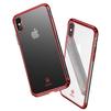 Чехол-накладка для Apple iPhone X (Baseus Minju WIAPIPHX-MJ09) (красный) - Чехол для телефонаЧехлы для мобильных телефонов<br>Обеспечит надежную защиту Вашего мобильного устройства от повреждений, загрязнений и других нежелательных воздействий.<br>