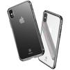 Чехол-накладка для Apple iPhone X (Baseus Minju WIAPIPHX-MJ01) (черный) - Чехол для телефонаЧехлы для мобильных телефонов<br>Обеспечит надежную защиту Вашего мобильного устройства от повреждений, загрязнений и других нежелательных воздействий.<br>