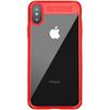 Чехол-накладка для Apple iPhone X (Baseus Suthin ARAPIPHX-SB09) (красный) - Чехол для телефонаЧехлы для мобильных телефонов<br>Обеспечит надежную защиту Вашего мобильного устройства от повреждений, загрязнений и других нежелательных воздействий.<br>