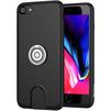 Чехол-накладка для Apple iPhone 7, 8 (Baseus Magnetic Wireless Charging Multi-function WXAPIPH8N-01) (черный) - Чехол для телефонаЧехлы для мобильных телефонов<br>Представляет собой многофункциональный чехол-накладку для Apple iPhone 7, 8. Помимо высококачественной защиты и стильного дизайна, аксессуар обеспечивает быструю и удобную беспроводную зарядку, используя комплектное АЗУ. Также накладка оснащена вращающимся на 360 градусов кольцом, позволяющим разместить смартфон с максимальным комфортом для просмотра мультимедийного контента.<br>