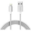Кабель USB-Lightning 1.8м (Anker A7114H41) (серебристый) - Usb, hdmi кабель, переходникUSB-, HDMI-кабели, переходники<br>Кабель для синхронизации и зарядки устройства, разъемы USB-Lightning, длина 1.8 м, сертификация MFI, плетеный нейлон, гибкий и прочный.<br>