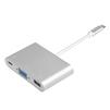 Переходник USB Type C - VGA, USB 3.0, USB Type C (Greenconnect GCR-AP25) - Usb, hdmi кабель, переходникUSB-, HDMI-кабели, переходники<br>Позволяет подключить большее количество различной периферийной техники к ПК или ноутбуку. Модель имеет встроенную защиту от скачков напряжения для каждого порта.<br>