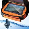 CALYPSO FDV-1110 (оранжевый) - Подводная камераПодводные камеры<br>TLF LCD HD монитор с диагональю 4.3, разрешение монитора 960 х 480, влагозащита монитора IP67 Rated, видеокамера 1.3 с углом обзора 135 градусов, усиленный видеокабель длиной 20 м.<br>
