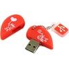 SmartBuy Wild Series Heart 8GB - USB Flash driveUSB Flash drive<br>SmartBuy Wild Series Heart 8GB - флэш-накопитель 8 Гб, интерфейс USB 2.0, водонепроницаемый корпус, материал корпуса: резина.<br>