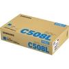 Тонер картридж для Samsung CLP-620ND, CLP-670ND, CLP-670N, CLX-6220FX, CLX-6250FX (Samsung by HP CLT-C508L) (голубой) - Картридж для принтера, МФУКартриджи<br>Совместим с моделями: Samsung CLP-620ND, CLP-670ND, CLP-670N, CLX-6220FX, CLX-6250FX.<br>