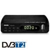 TV-тюнер BBK SMP145HDT2 (черный) - ТВ тюнерTV-тюнеры<br>TV-тюнер BBK SMP145HDT2 - исполнение: внешнее, DVB-T, DVB-T2, Выход HDMI, воспроизведение файлов, Пульт ДУ, USB 2.0 Type A.<br>