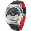 MyKronoz ZeTime  Regular (серебристый/черный с красным) - Умные часы, браслетУмные часы и браслеты<br>MyKronoz ZeTime  Regular - влагозащищенные, сенсорный экран, 1.22, 240x240, совместимость с Android, iOS. Мониторинг сна, калорий, физической активности, вес: 90 г.<br>