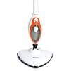 Kitfort KT-1004-3 (белый, оранжевый) - Пароочиститель, отпаривательПароочистители и отпариватели<br>Kitfort KT-1004 - паровая швабра, мощность 1500 Вт, объем 0.35 л<br>
