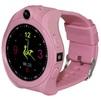 Часы Ginzzu GZ-507 (розовый) - Умные часы, браслетУмные часы и браслеты<br>Детские умные часы, влагозащищенные, пластиковый корпус, сенсорный IPS-экран, 1.44, встроенный телефон, совместимость с Android, iOS, мониторинг сна, калорий, физ. активности, камера.<br>