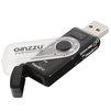 Ginzzu GR-322B - Картридер, Card ReaderКартридеры (Card Reader)<br>Внешний картридер USB 3.0, максимальная скорость записи/чтения, МБ/сек - 145, индикатор активности.<br>