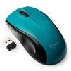 Gembird MUSW-320-B (голубой) - МышьМыши<br>Gembird MUSW-320 Black USB - мышь, беспроводная (радиоканал), 1000 dpi, USB, цвет: голубой.<br>