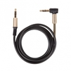 Аудио-кабель Jack 3.5 мм-Jack 3.5 мм 1м (Ritmix RCC-247) (черный) - Кабель, разъем для акустической системыКабели и разъемы для акустических систем<br>Аудио-кабель Jack 3.5 мм-Jack 3.5 мм (L-образный коннектор с пружиной), длина 1м.<br>