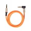 Аудио-кабель Jack 3.5 мм-Jack 3.5 мм 1м (Ritmix RCC-247) (оранжевый) - Кабель, разъем для акустической системыКабели и разъемы для акустических систем<br>Аудио-кабель Jack 3.5 мм-Jack 3.5 мм (L-образный коннектор с пружиной), длина 1м.<br>