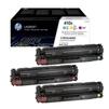 Картридж для HP LaserJet Pro M452, M477 (CF252XM) (желтый, пурпурный, голубой) - Картридж для принтера, МФУКартриджи<br>Совместим с моделями: HP LaserJet Pro M452, M477.<br>