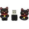 SmartBuy Wild Series Catty 8GB (черный) - USB Flash driveUSB Flash drive<br>Флэш-накопитель 8 Гб, интерфейс USB 2.0, скорость чтения: 20 Мб/с, водонепроницаемый корпус, материал корпуса: резина.<br>