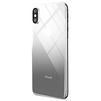 Защитное стекло для Apple iPhone X (Baseus Back Glass Coloring SGAPIPHX-GR01) (черный) - ЗащитаЗащитные стекла и пленки для мобильных телефонов<br>Защитное стекло для задней панели предназначено для защиты гаджета от царапин, ударов, сколов, потертостей, грязи и пыли.<br>