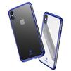Чехол-накладка для Apple iPhone X (Baseus Minju WIAPIPHX-MJ03) (синий) - Чехол для телефонаЧехлы для мобильных телефонов<br>Чехол обеспечит надежную защиту Вашего мобильного устройства от повреждений, загрязнений и других нежелательных воздействий.<br>