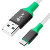 Кабель USB 2.0 - microB 5 pin, 1.5м (Greenconnect GCR-50549) (белый) - Usb, hdmi кабель, переходникUSB-, HDMI-кабели, переходники<br>Отличное универсальное решение для подключения и быстрой зарядки цифровой техники и портативных устройств, оснащенных универсальным разъемом microUSB 2.0.<br>