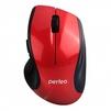 Perfeo Tango PF-526-RD - МышьМыши<br>Мышь выполнена в стильном корпусе, имеет углубления для пальцев и удобно лежит в ладони. Высокоточный оптический сенсор с разрешением 1000 dpi работает практически на любой поверхности. С помощью дополнительных боковых кнопок осуществляется быстрая навигация по страницам.<br>