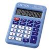 Citizen Cool4School LC-110NBL (голубой) - КалькуляторКалькуляторы<br>Калькулятор, 8-разрядный, тип дисплея - монохромный, количество строк дисплея - однострочный.<br>