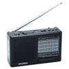 Hyundai H-PSR140 (черный) - РадиоприемникРадиоприемники<br>Портативный радиоприемник, FM-диапазон, AM-диапазон, SW-диапазон, тип антенны - встроенная.<br>