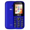 BQ BQ-1807 Step + (темно-синий) ::: - Мобильный телефонМобильные телефоны<br>GSM, вес 67 г, ШхВхТ 49.5x114x13.9 мм, экран 1.77, 160x128, MP3, FM-радио, Bluetooth, память 64 Мб, аккумулятор 600 мАч.<br>