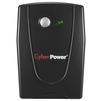 CyberPower VALUE1000EI (черный) - Источник бесперебойного питания, ИБПИсточники бесперебойного питания<br>Интерактивный источник бесперебойного питания, 1-фазное входное напряжение, выходная мощность 1000 ВА / 550 Вт, выходных разъемов: 3 (с питанием от батарей - 3), интерфейсы: USB, RS-232, время зарядки 8 ч, форма выходного сигнала: синусоида.<br>