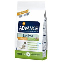 Advance (10 кг) Cat Sterilized индейка и ячмень