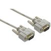 Модемный кабель COM RS-232 4м (Greenconnect GCR-DB9CM2M-4m) (серый) - Кабель, переходникКабели, шлейфы<br>Модемный кабель для систем АСУ ТП, ресиверов, разъемы RS-232 9M - RS-232 9M, бескислородная медь, 30 AWG, длина 4м.<br>