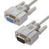 Модемный кабель COM RS-232 1.5м (Greenconnect GCR-50656) (серый) - Кабель, переходникКабели, шлейфы<br>Модемный кабель c разъемами DB9M/DB9F, который так же называют нуль модемным, служит для подключения профессионального оборудования с интерфейсом RS-232.<br>