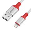 Кабель USB - Lightning для Apple 5, 5S, SE, 5C, 6, 6 Plus, 6S, 6S Plus, 7, 7 Plus, 8, 8 Plus, X, ipad 4, Air, Air 2, mini, mini 2, mini 3, mini 4, ipad 2017, pro 9.7, pro 12.9, pro 10.5 (Greenconnect GCR-50598) - Usb, hdmi кабель, переходникUSB-, HDMI-кабели, переходники<br>Кабель обеспечивает высокую скорость передачи данных для быстрой загрузки музыки, фотографий и видео на Ваше устройство, а также предлагает удобный способ зарядки.<br>