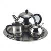 Чайно-кофейный набор BEKKER BK-3618 Premium - Посуда для готовкиПосуда для готовки<br>Чайник с крышкой 1.5 л, сахарница с крышкой 0.33 л, сливочник 0.35 л, поднос 30.5 см, ложка.<br>
