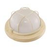 Светильник TDM НПБ1302 (сосна/круг с решеткой) - Настольная лампа, ночник, светильник, люстраНастольные лампы, светильники, ночники, люстры<br>Светильник, диапазон рабочих температур: от -45°С до +100°С, класс защиты от поражения электрическим током: 1, климатическое исполнение: УХЛ4. Минимальное расстояние до освещаемого объекта: 0.5 м, мощность: 60 вт, номинальная частота: 50 Гц, номинальное рабочее напряжение: 230 В, сечение подключаемых проводников: 0,75-1,5 мм2, степень защиты: IP54, тип источника света: ЛОН, КЛЛ, LED. Тип цоколя: Е27.<br>