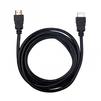 Кабель HDMI (m)-HDMI (m) 3м (Ritmix RCC-152) (черный) - HDMI кабель, переходникHDMI кабели и переходники<br>Ritmix RCC-152 - универсальный HDMI-кабель для подключения цифровых устройств, 2.0V, 30AWG, CCS, омедненный, позолоченные контакты, длина кабеля 3 м.<br>