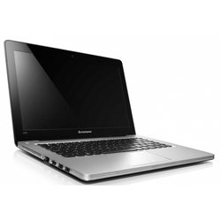 "ноутбук lenovo ideapad u310 ultrabook 59-343341 (core i3 2365m 1400 mhz, 13.3"", 1366x768, 4096mb, 320gb, dvd нет, intel hd graphics 3000, wi-fi, win 8) grey"