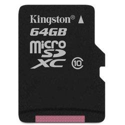 MicroSDXC 64GB Kingston (SDCX10/64GBSP)